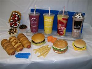 Custom made fake foods from fake foods manufacturer, fake food for restaurants On Sale.