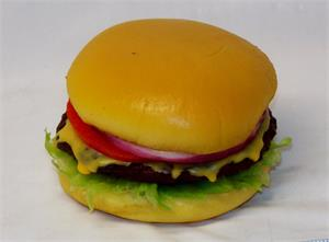 Fake hamburger for display,relica cheeseburgers On Sale!