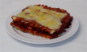 Replica lasagna for display Fake Foods Lasagna NEW.