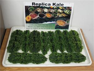 Plastic Kale for salad bar display, Replica Kale for salad bar display, Replica Kale On Sale.