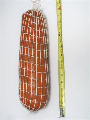 "15"" Long Replica Bologna. Realistic Fake Bologna For Fake Food Meat Display."