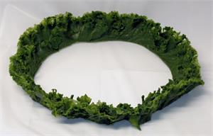 Plastic kale rings for fake kale in the salad bar On Sale!