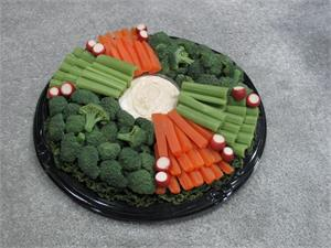 Fake vegetable tray for catering display On Sale.