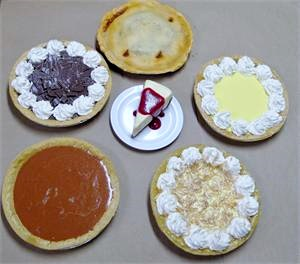 Replica Pies for fake foods display On Sale.