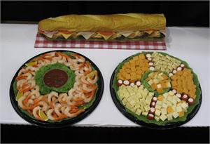 Fake cheese tray for display, Fake Food Replicas On Sale. Fake sub sandwich for sale.
