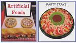 Artificial Food at Fake Foods and More. Plastic Food with replica shrimp and plastic pizza for display.